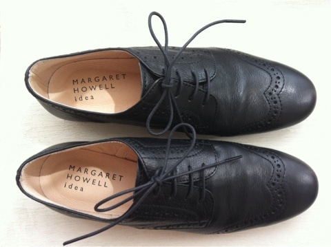 MARGARET HOWELL idea lace up shoes ...