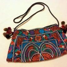 モン族刺繍ポシェット
