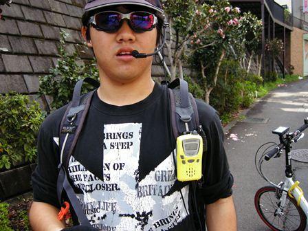 自転車の 自転車連盟 : リュックのハーネスに付いて ...