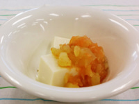 豆腐のお芋がけ