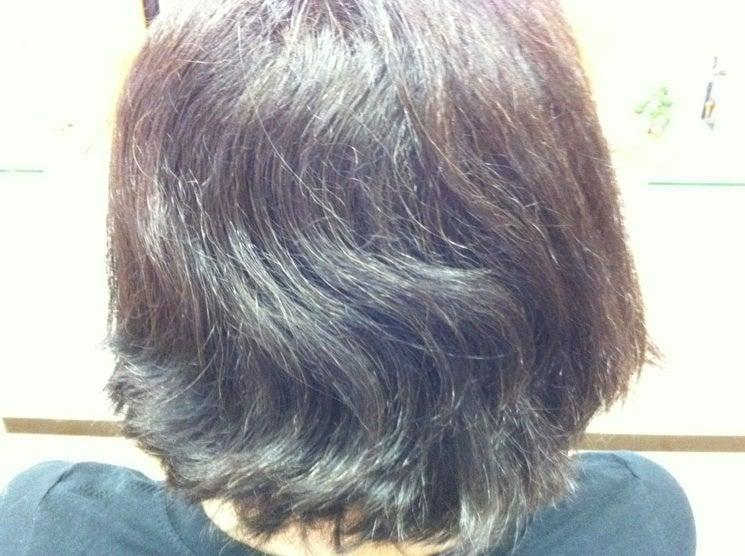 $横浜山手のミコノスサロン:ヘアー&エステあみゆぅずのブログ☆-ミコノスのビフォー2