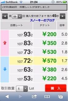 スノーキーのブログ-みんなのバイナリー必勝法ユーロ円