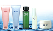 肌に優しいポリシー化粧品の販売(COMPLEX-SHOP)-敏感性乾燥肌の入門5点セットポリシー化粧品