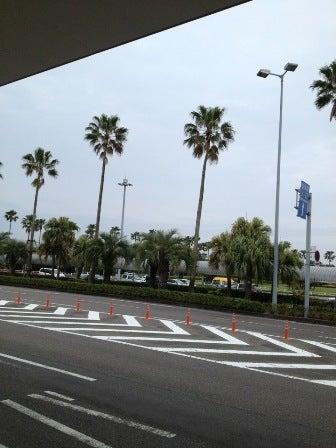 雨の宮崎空港