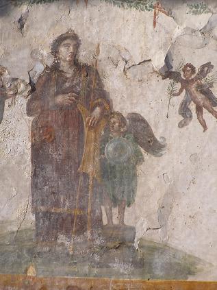 ポンペイ 壁画1