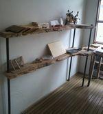 天然木の錬金術師のブログ-ケヤキの陳列棚