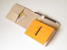 OXIO-CRAFT(オキクラ)の「革雑貨」製作日記-メモ&ペンケース