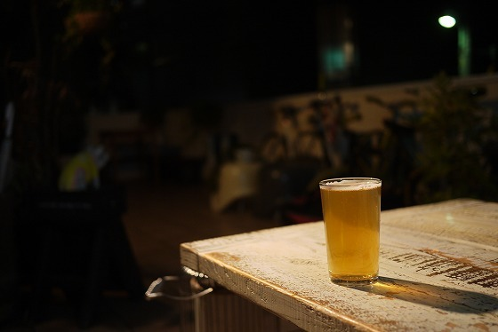 ビールのある風景 at HATOS BAR & BBQ SMOKEHOUSE