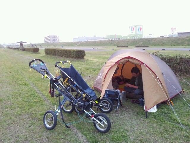 $歩き人ふみの徒歩世界旅行 日本・台湾編-久々のキャンプ