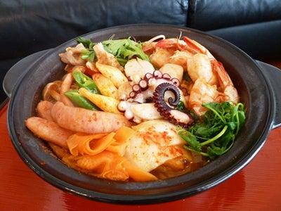 韓国料理研究家・ほんだともみのコリアンワールド-丸大食品 プデチゲ