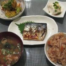 夕食☆鶏とごぼうの味…