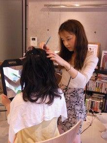 神戸のカラーリスト スタイリスト  トータル素敵プロデューサー☆みつこのブログ-ヘアメイク風景
