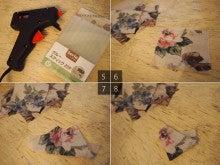 布を切って貼るだけ!リースの作り方5~8