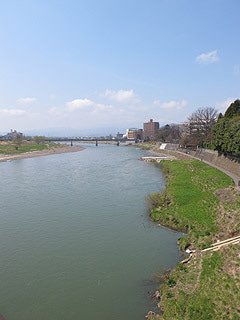 晴れのち曇り時々Ameブロ-阿武隈川