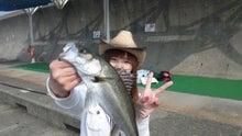 釣りガール★しいなの釣りって楽しいな♪-120424_082438.jpg