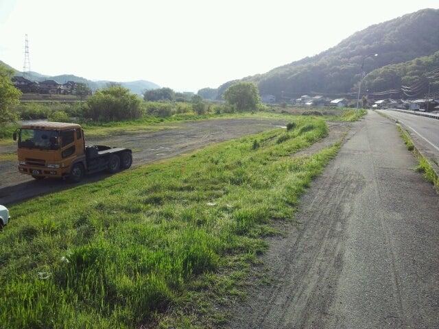 歩き人ふみの徒歩世界旅行 日本・台湾編-小田川河川敷