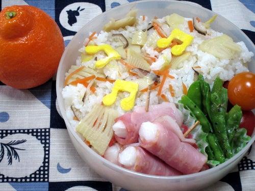 韓国料理研究家・ほんだともみのコリアンワールド-お餅のベーコン巻き