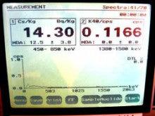 チダイズム ~毎日セシウムを検査するブログ~-EZP211