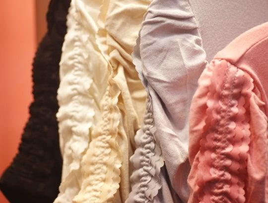 モダールサン UVカット ゴージャスフリルTシャツ&アームカバー 色展開