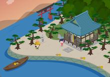 りょうのピグ日記 ~ ピグ 釣り部 目指せ!ぬし釣り 攻略 ~-ピグ釣り 琵琶湖 湖畔(中級)