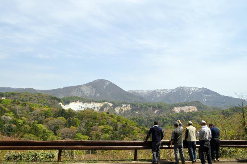 $白神山地ツアーの白神なびスタッフブログ-2012年5月1日の十二湖4
