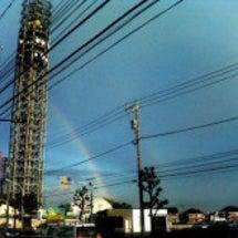 2本の虹が・・・