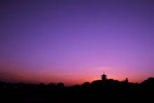 吉備路の夕景