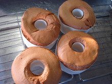 麦わらぼうしのブログ-スパイスのシフォンケーキ