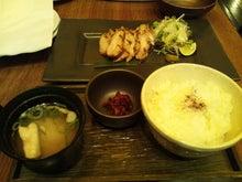 ともちゃんのブログ-茶美豚三枚肉の網焼き 柚子胡椒添え