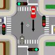 交通整理の行われてい…