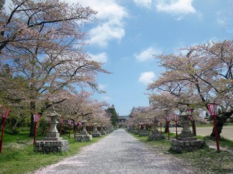 相馬中村神社にて