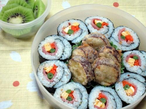 韓国料理研究家・ほんだともみのコリアンワールド-焼き豚キンパ