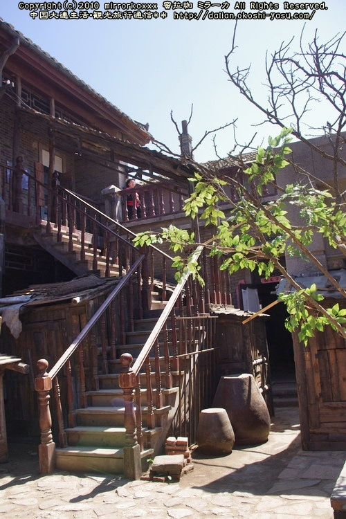 中国大連生活・観光旅行ニュース**-旅順 関東民俗文化村 Movie&TV city