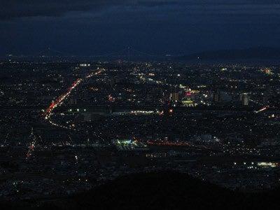 おやまのしゅっぽ 出発進行~♪-加古川の夜景