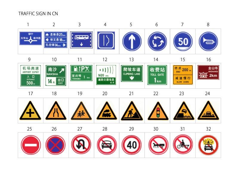 車 ― 中国の交通標識をみ ... : 標識 一覧 意味 : すべての講義