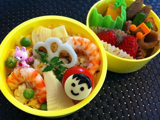 Honey's Kitchen-赤ずきんちゃんのちらし寿司弁当