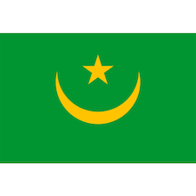 $食い旅193ヶ国inTOKYO-モーリタニア国旗