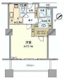 池袋賃貸高層タワーマンション・人気高級賃貸物件限定ブログ-ザ・タワー・グランディア8F1Kタイプ