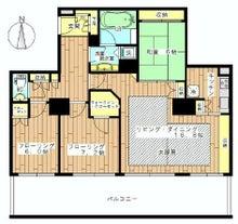 池袋賃貸高層タワーマンション・人気高級賃貸物件限定ブログ-ザ・タワー・グランディア23F3LDK