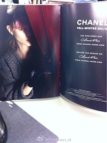 Freja-The Chanel lookbook4