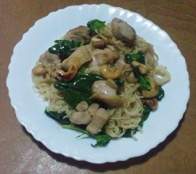 豆腐の Cooking Life-そうめんチャンプルー