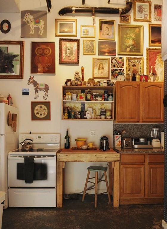 海外のシャビーでお洒落なキッチンインテリア