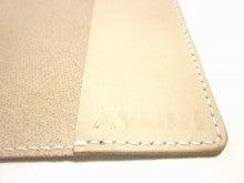OXIO-CRAFT(オキクラ)の「革雑貨」製作日記-肉球ブックカバー
