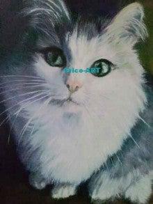 ファンタジー油絵描きErico(エリコ)の動物・ペット肖像画館-neko