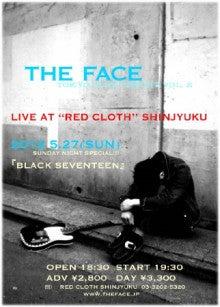 銀座Bar ZEPマスターの独り言-THE FACE・2012.5.27