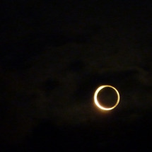 金環日食どうでした?