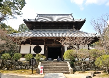 $史跡へ行こう!ブログ-宝福寺仏殿
