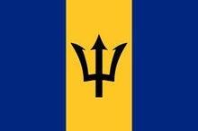 $食い旅193ヶ国inTOKYO-バルバドス国旗