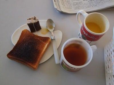$上松技術専門校 木工ブログ2012-K君の朝ごはんはお洒落