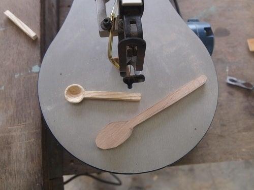 $上松技術専門校 木工ブログ2012-木工作業、カトラリー、スプーン